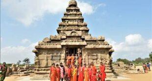 Đền Shore viên ngọc quý di sản Mamallapuram !